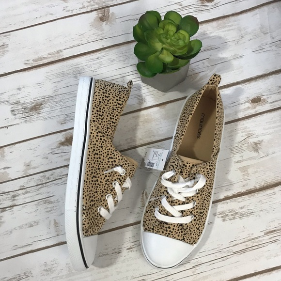 Maurices Shoes | Leopard Print Sneakers